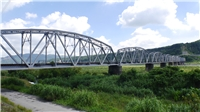 「臺鐵舊山線-大安溪鐵橋」