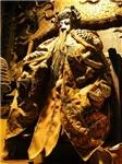 雕木神農大帝像(附咸豐元年製木椅)