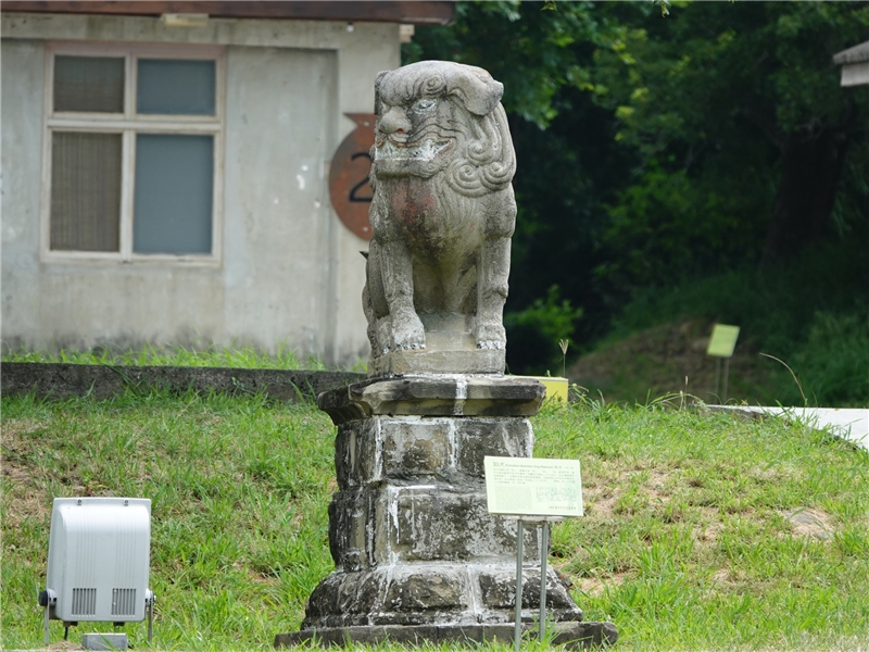 公版-牛罵頭遺址文化園區的狛犬