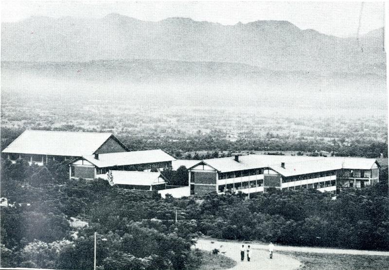 (2)1962年男生宿舍(取自1962年東海大學第4屆異業紀念冊)