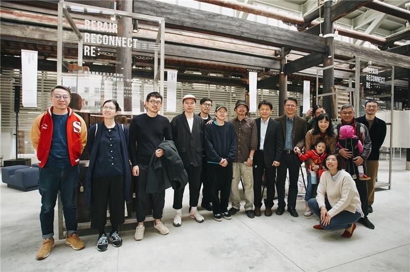 串遊季REUSE台中市政府文化局長官與創作者、DJ合照