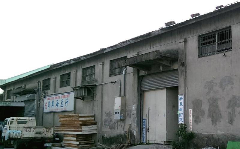 新民街倉庫群外觀