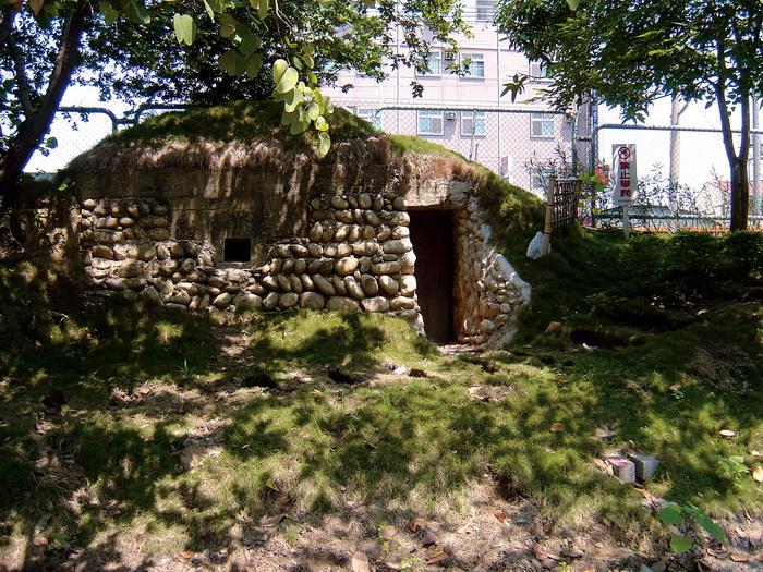 臺中市鐵路沿線崇倫碉堡