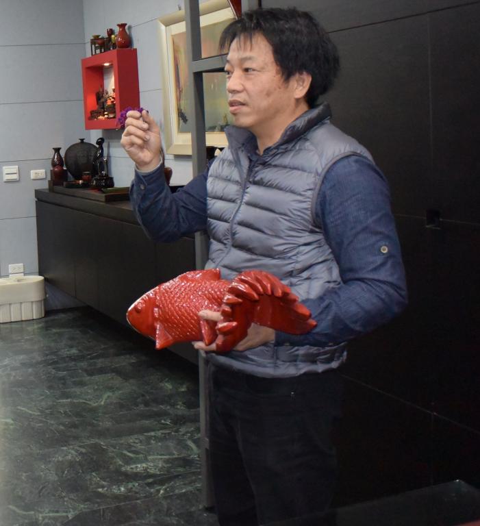 漆工藝-夾紵漆器.保存者廖勝文