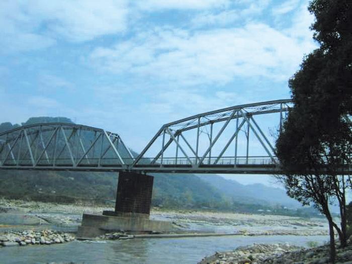 舊山線鐵道-大甲溪鐵橋