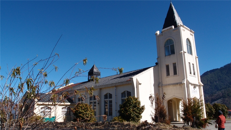 歷史建築「梨山耶穌堂」